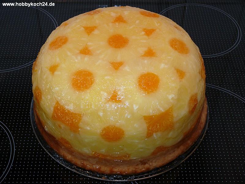 Mandarinen ananas kuchen