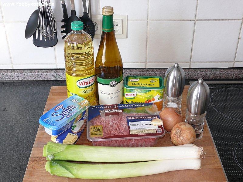 suppe käse lauch hackfleisch