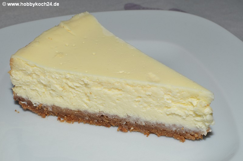 New York Style Cheesecake - hobbykoch24.de